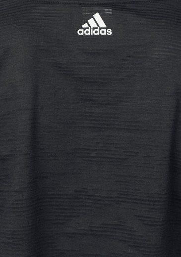 adidas Performance Funktionsshirt AEROKNIT CROP TEE