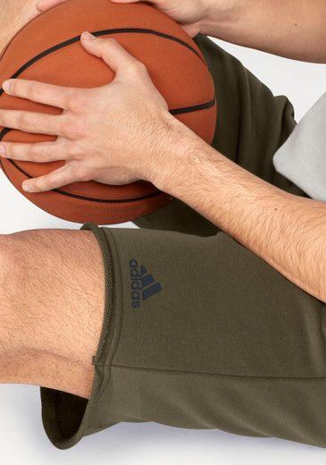 adidas Performance Shorts ESSENTIALS RAW HEM FRENCH TERRY SHORT