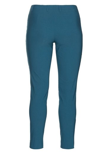 sheego Basic Anzughose, knitterarm und pflegeleicht