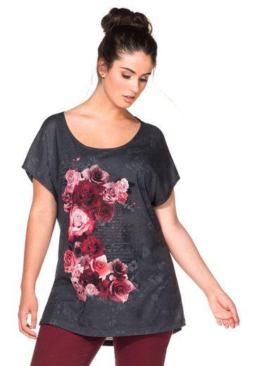 sheeGOTit T-Shirt, im Materialmix