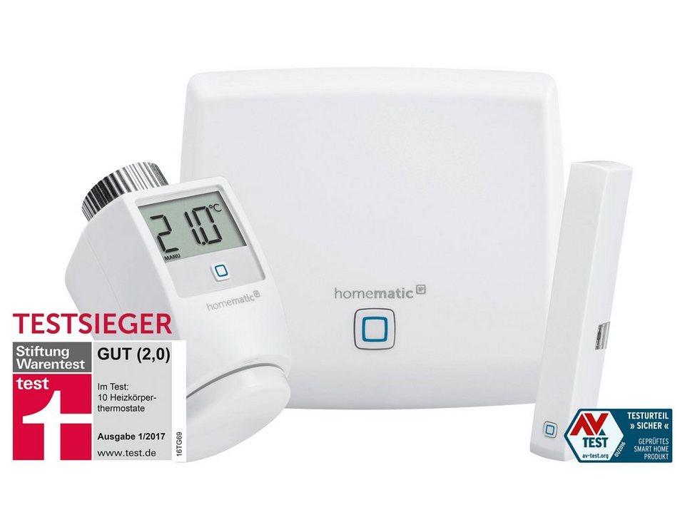 Homematic IP - Smart Home - Raumklima & Komfort (HmIP-SK1) »Starter Set Raumklima« in weiss