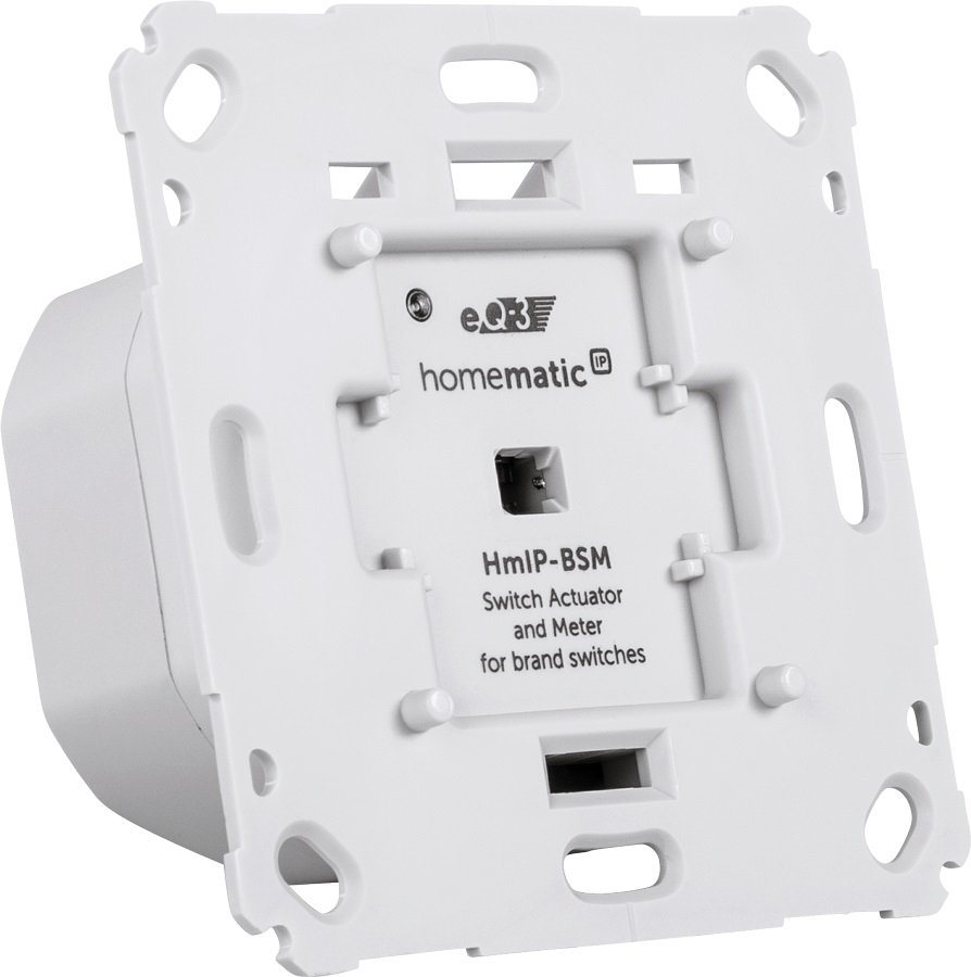 Homematic IP - Smart Home - Licht & Komfort (HmIP-BSM) »Schalt-Mess-Aktor für Markenschalter« in weiss