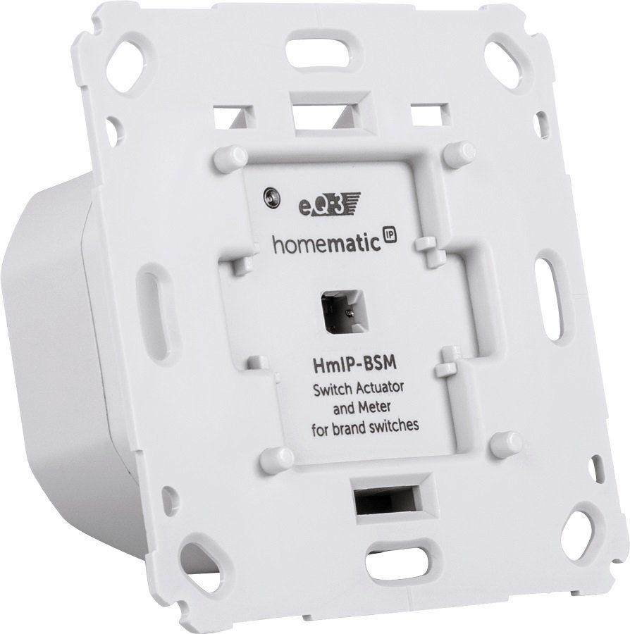Homematic IP - Smart Home - Licht & Komfort (HmIP-BSM) »Schalt-Mess-Aktor für Markenschalter«