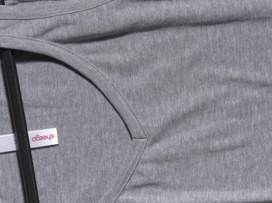 sheego Basic Tanktop, fein gerippte Shirtware