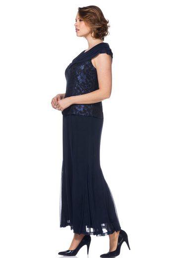 sheego Style Abendkleid, mit Schalkragen