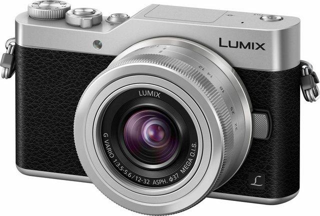 Systemkameras - Lumix Panasonic »DM GX800KEG« Systemkamera (LUMIX G VARIO 12 32mm F3.5 5.6 ASPH. MEGA O.I.S, 16 MP, Gesichtserkennung, Panorama Modus)  - Onlineshop OTTO