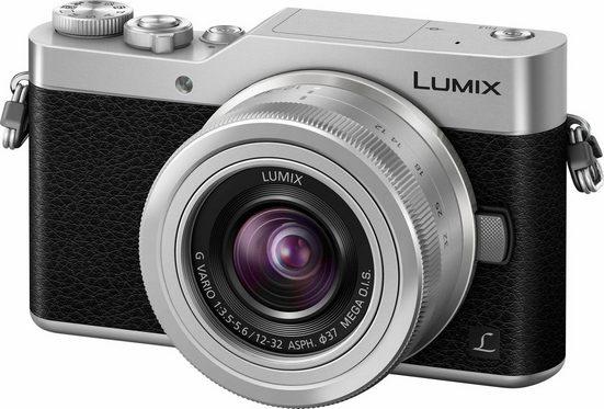 Lumix Panasonic »DM-GX800KEG« Systemkamera (LUMIX G VARIO 12-32mm / F3.5-5.6 ASPH. / MEGA O.I.S, 16 MP, Gesichtserkennung, Panorama-Modus)