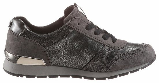 Tom Tailor Sneaker, In Trendigem Metallic Look