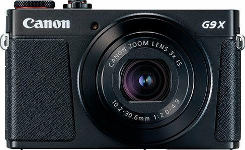 Canon »PowerShot G9 X Mark II« Bridge-Kamera (20,1 MP, 3x opt. Zoom, WLAN (Wi-Fi), NFC)