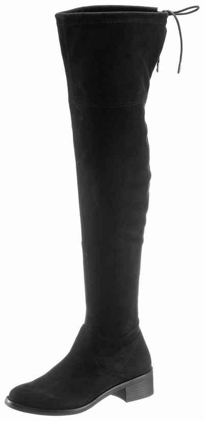 Damenstiefel schwarz ohne absatz