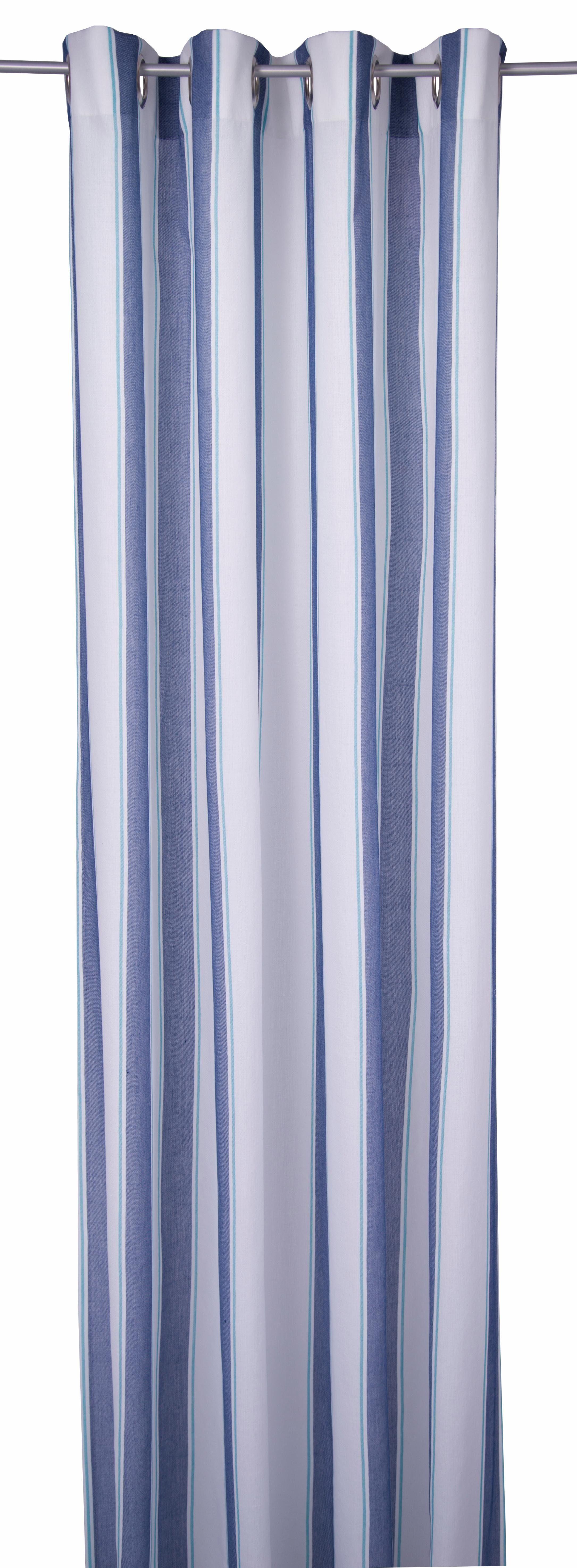 Vorhang »CASUAL CLOTH«, TOM TAILOR, Ösen (1 Stück)