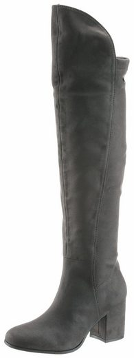 Tom Tailor-slip Boots With Inside Zip