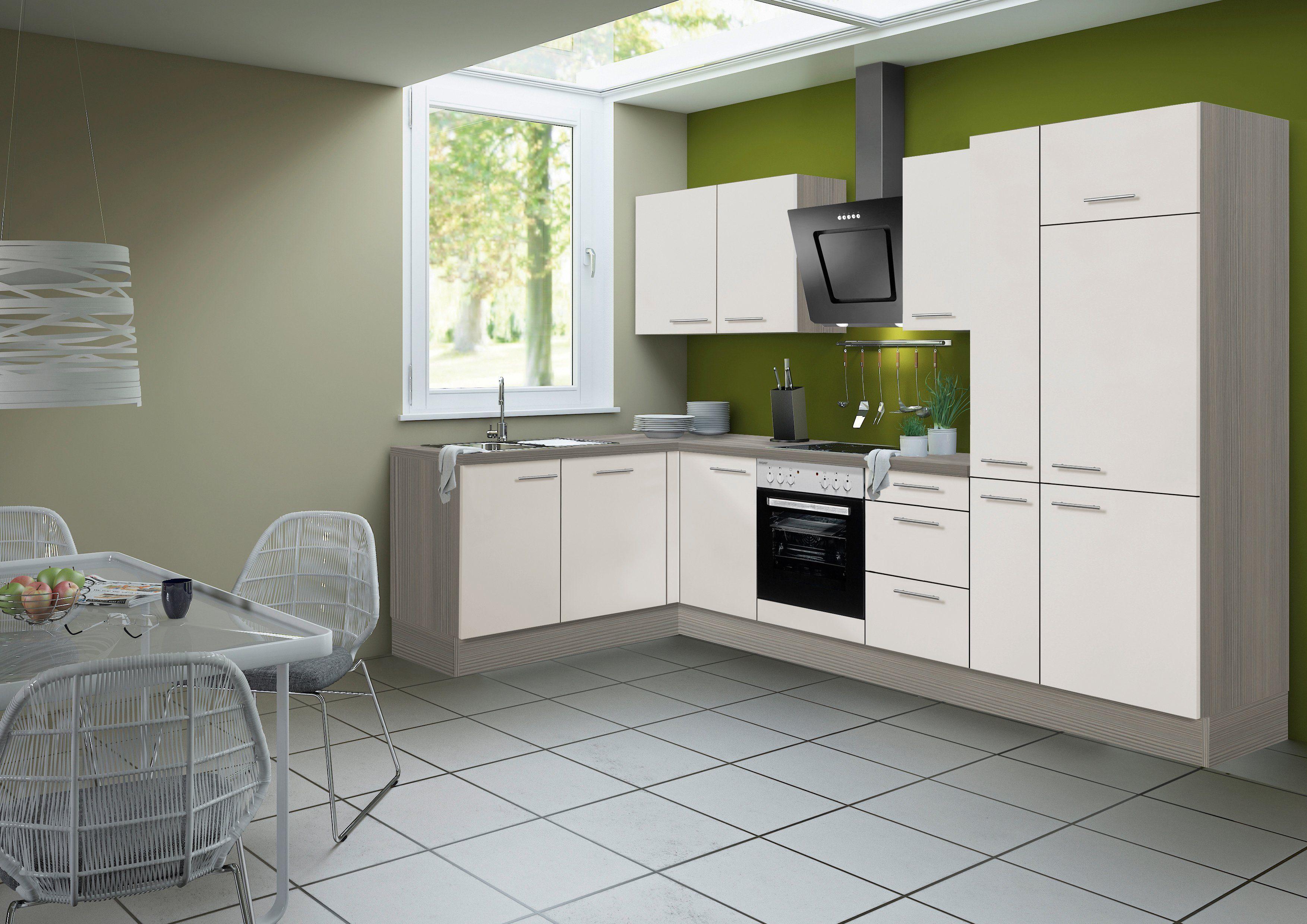OPTIFIT Küchenzeile ohne E-Geräte »Finn, Breite 315 x 175 cm«
