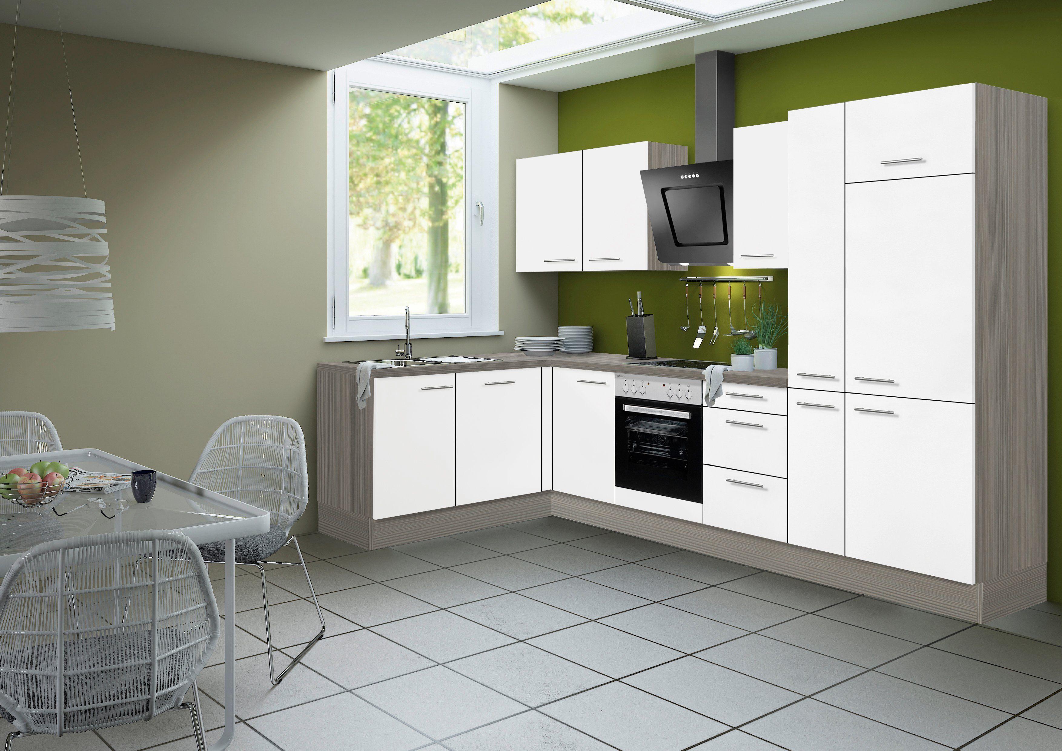 OPTIFIT Küchenzeile ohne E-Geräte »Torger, Breite 315 x 175 cm«