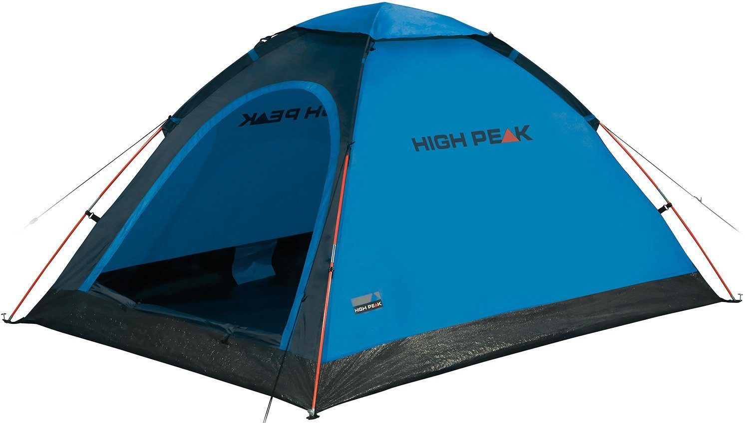 High Peak Kuppelzelt »Monodome«, 2 Personen (Set, mit Transporttasche)