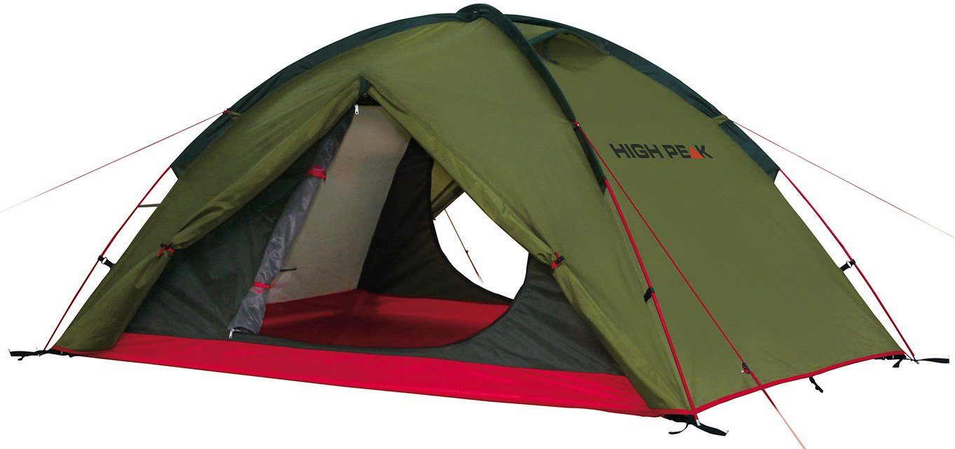 High Peak Kuppelzelt »Woodpecker 3«, 3 Personen (Set, mit Transporttasche)