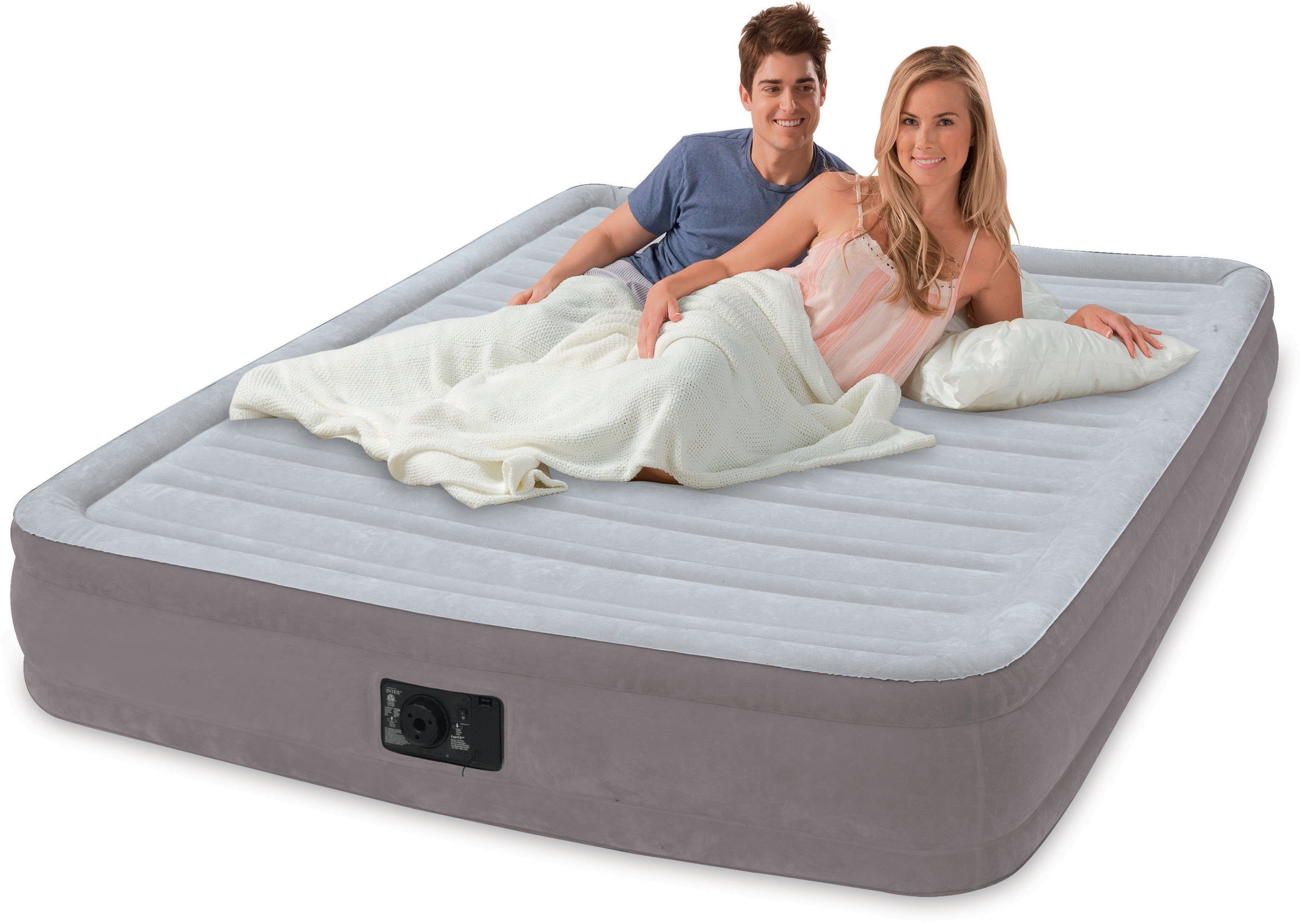 Intex Luftbett mit integrierter Elektropumpe, »Comfort-Plush Twin«