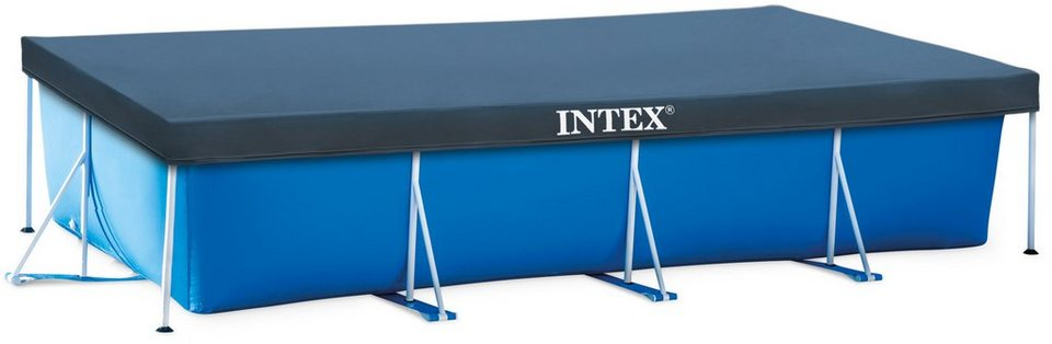 intex pool abdeckplane pool cover f r rechteckige pools online kaufen otto. Black Bedroom Furniture Sets. Home Design Ideas