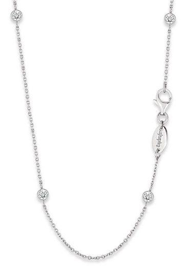 Engelsrufer Silberkette »Little magic, KETTE MOONLIGHT, ERN-80-LILMOON-ZI«, mit Zirkonia