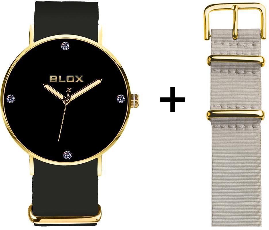 Blox Quarzuhr »BX15314« (Set, 2 tlg), mit einem Wechselband