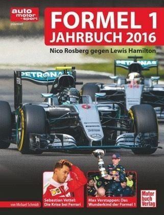 Gebundenes Buch »Formel 1 Jahrbuch 2016«