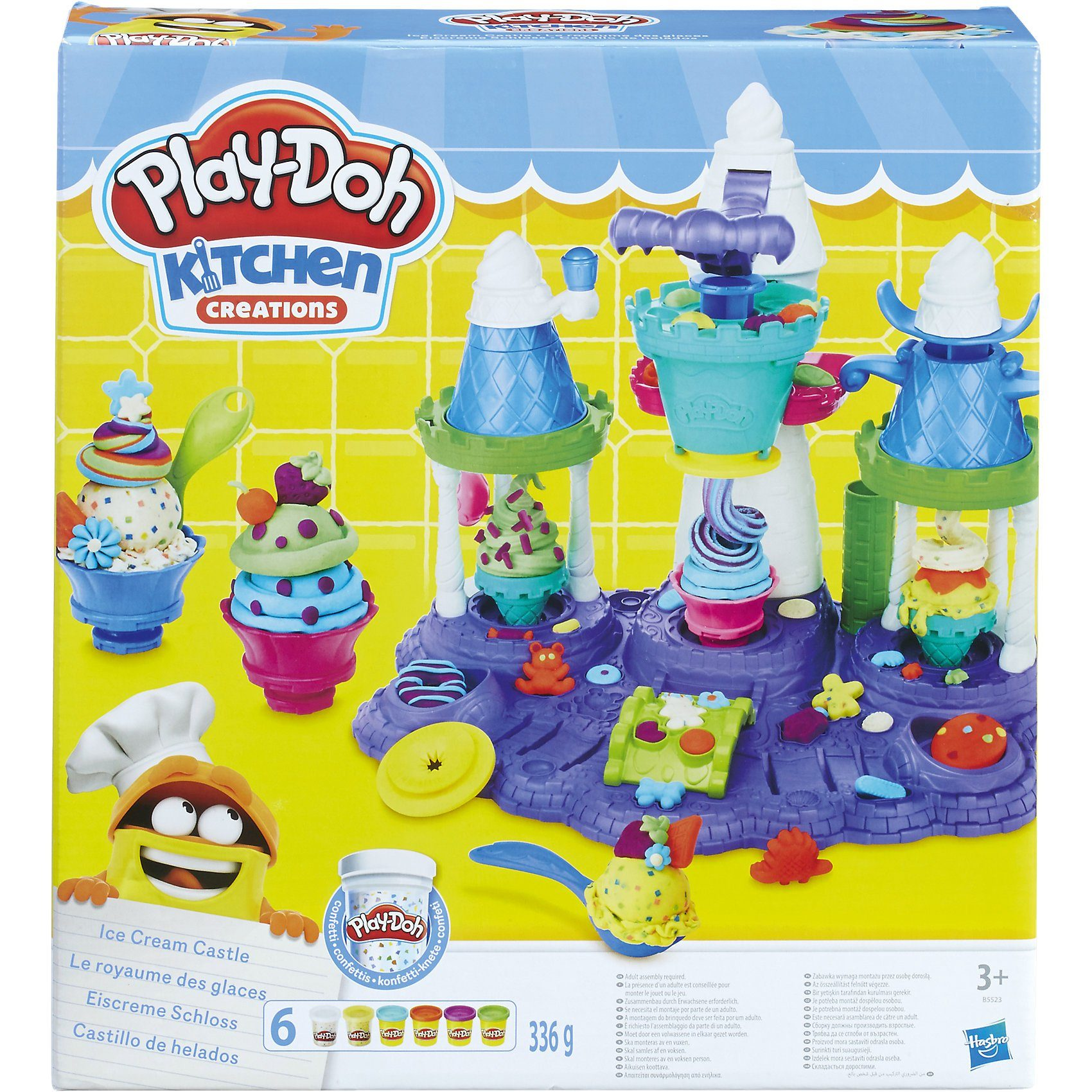 Hasbro Play-Doh Kitchen Eiscreme Schloss