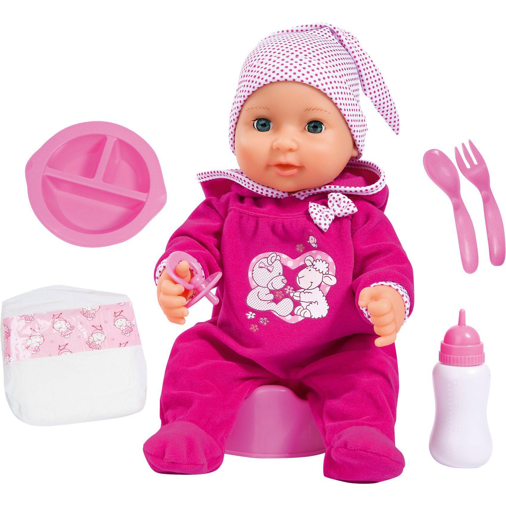 Bayer Babypuppe Piccolina Newborn Baby 40 cm