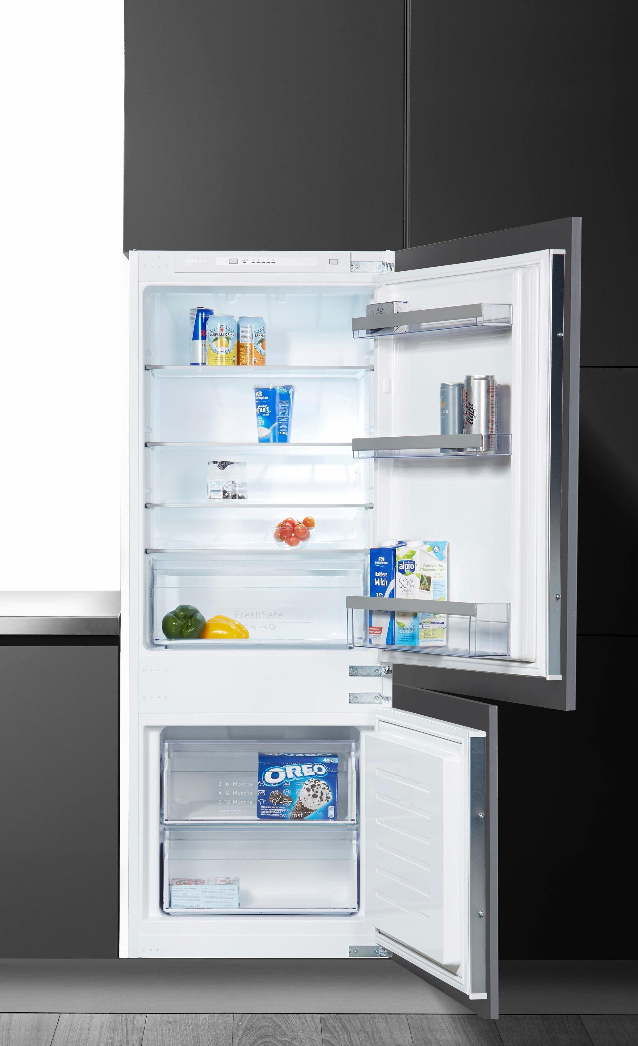 NEFF Einbaukühlschrank KG514A2 / KI5672S30, 144,6 cm hoch, 54,5 cm breit, Energieeffizienzklasse: A++, 144,6 cm hoch
