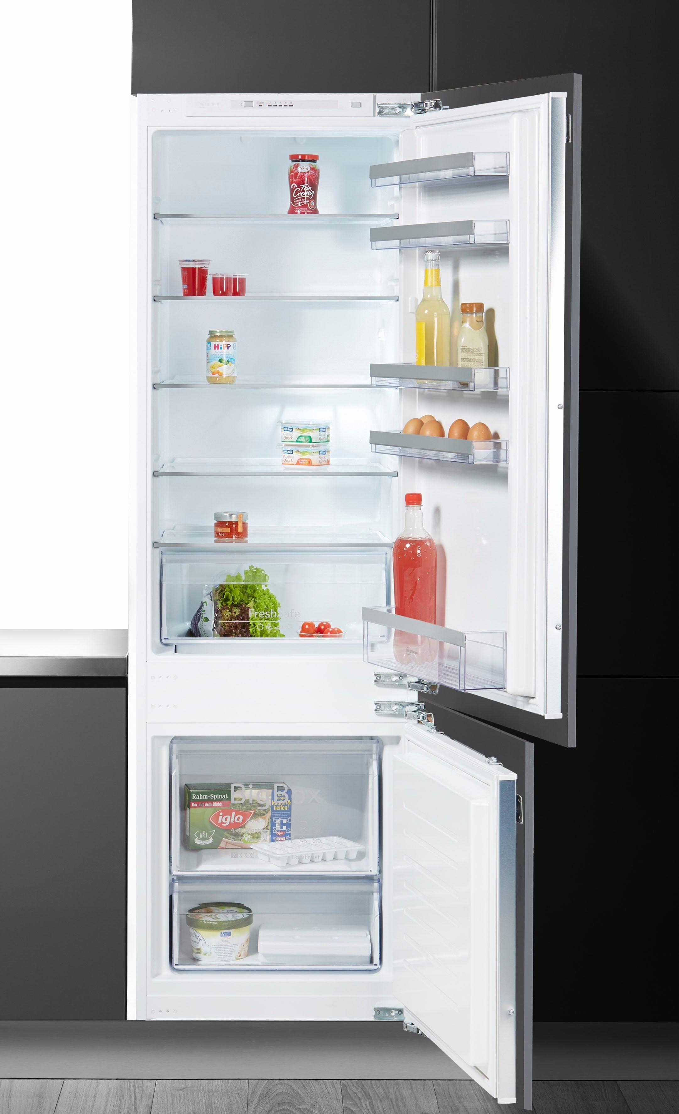NEFF Einbaukühlgefrierkombination KG815A2 / KI5872F30, 177,2 cm hoch, 54,5 cm breit, Energieeffizienzklasse: A++, 177,2 cm hoch