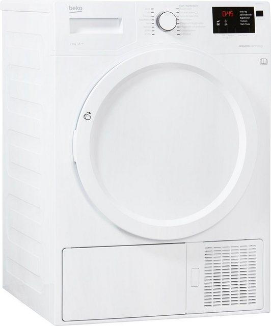 BEKO Wärmepumpentrockner DE 8433 PA0| 8 kg | Bad > Waschmaschinen und Trockner > Wärmepumpentrockner | Beko