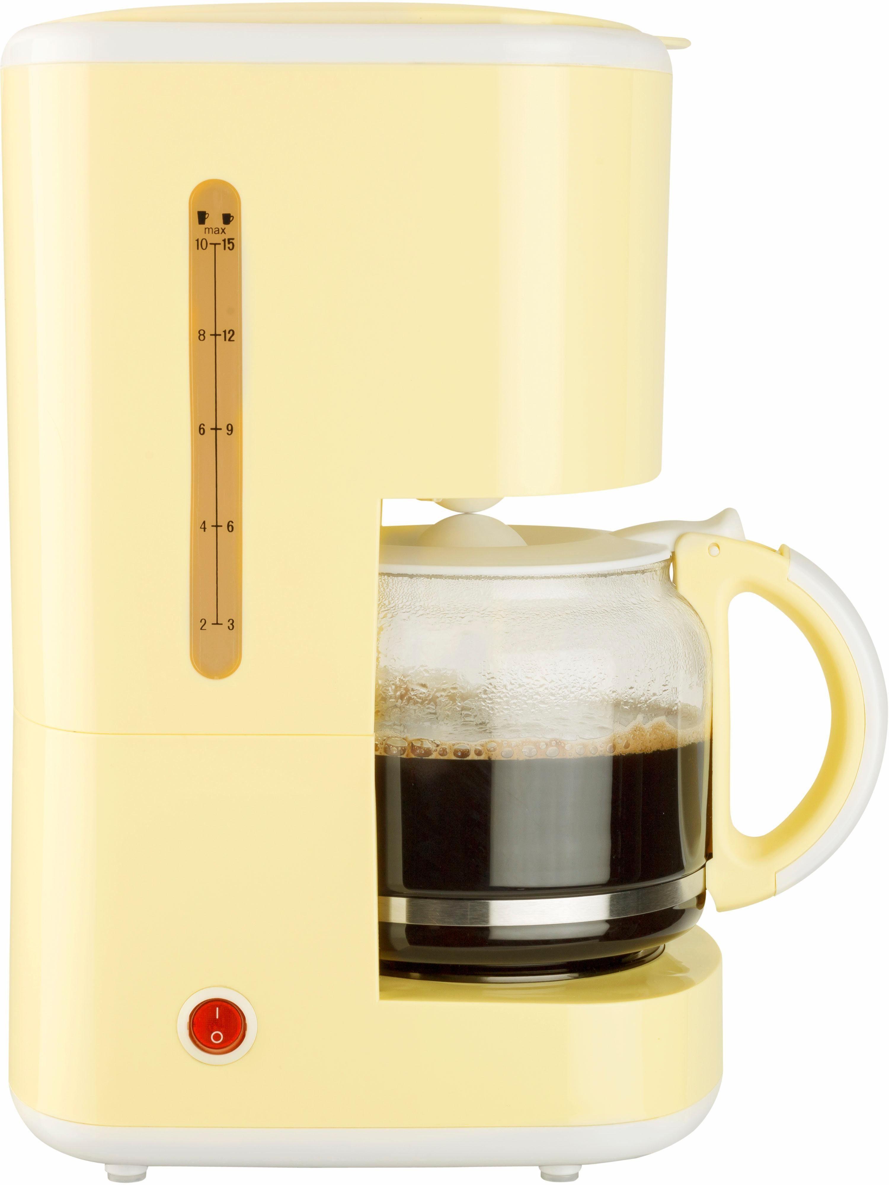 bestron Filterkaffeemaschine ACM300EVV, 1,5l Kaffeekanne, Permanentfilter 1x4