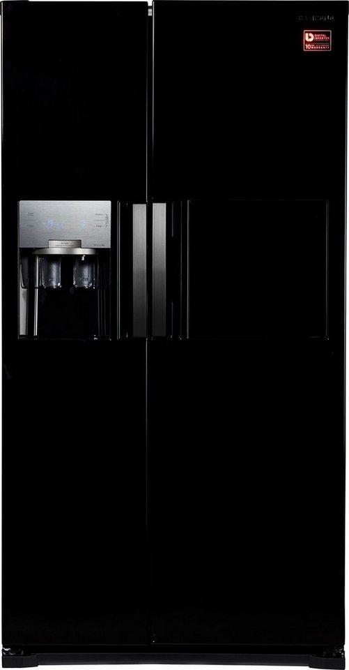 Amerikanische kühlschränke schwarz  Samsung Side-by-Side RS7778FHCSL, A++, 178,9 cm hoch, NoFrost ...
