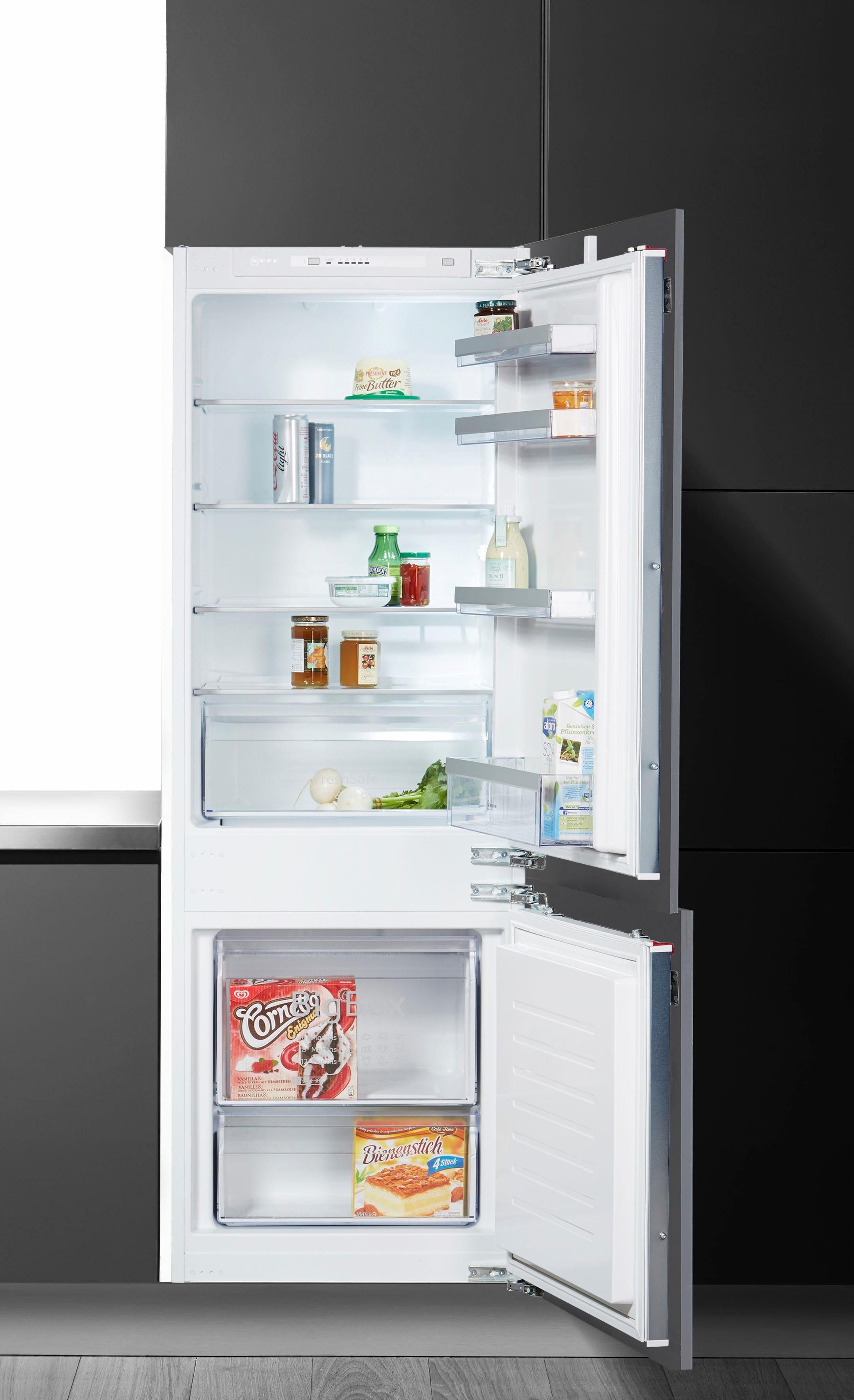 NEFF Einbaukühlschrank KG615A2 / KI5772F30, 157,8 cm hoch, 54,5 cm breit, Energieeffizienzklasse: A++, 157,8 cm hoch