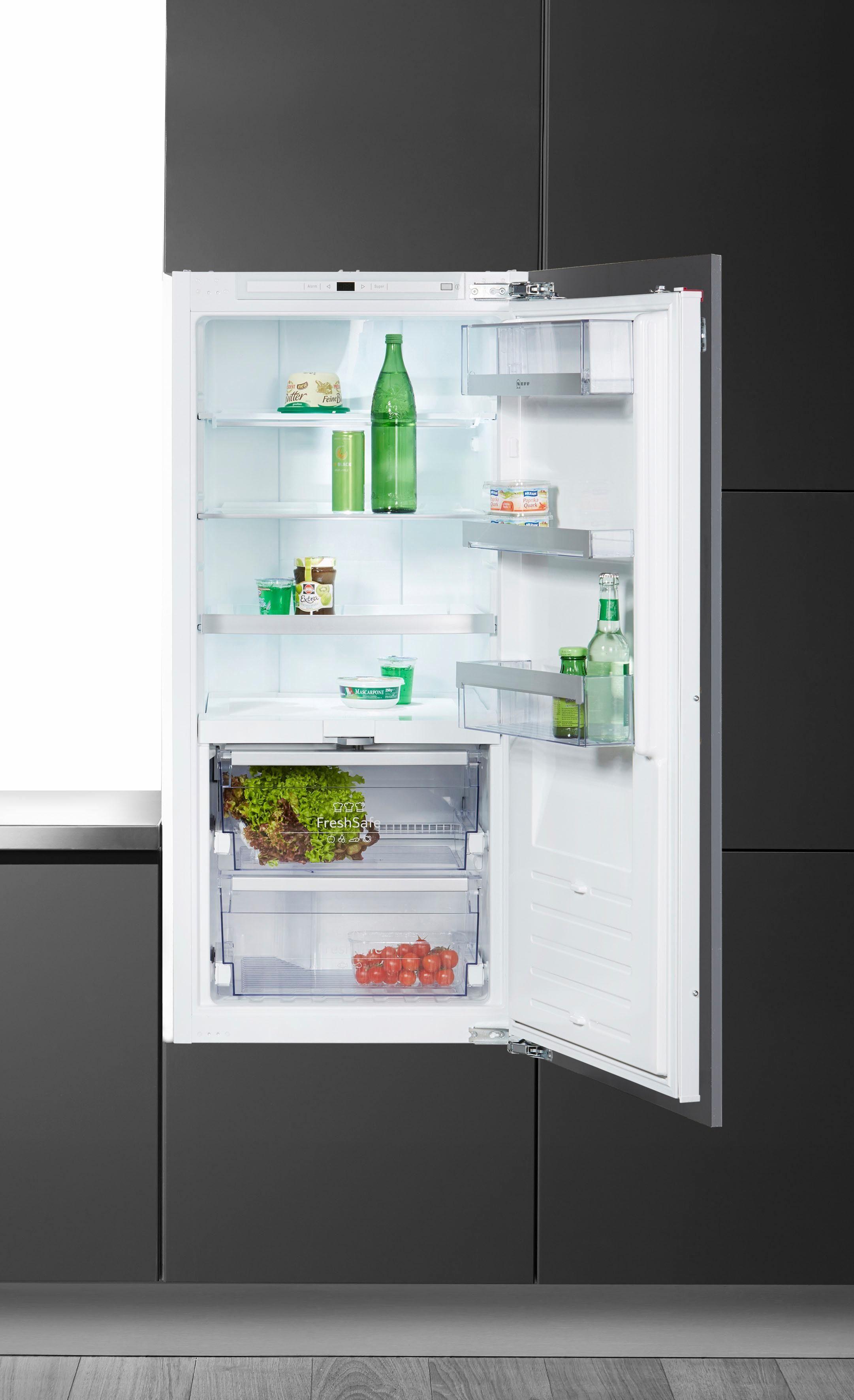 NEFF Einbaukühlschrank KN436A2 / KI8413D30, 122,1 cm hoch, 55,8 cm breit, Energieklasse A++, 122 cm hoch, integrierbar