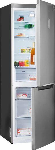 Samsung Kühl-/Gefrierkombination RB3000 RL33J3415SS, 185 cm hoch, 59,5 cm breit, No Frost
