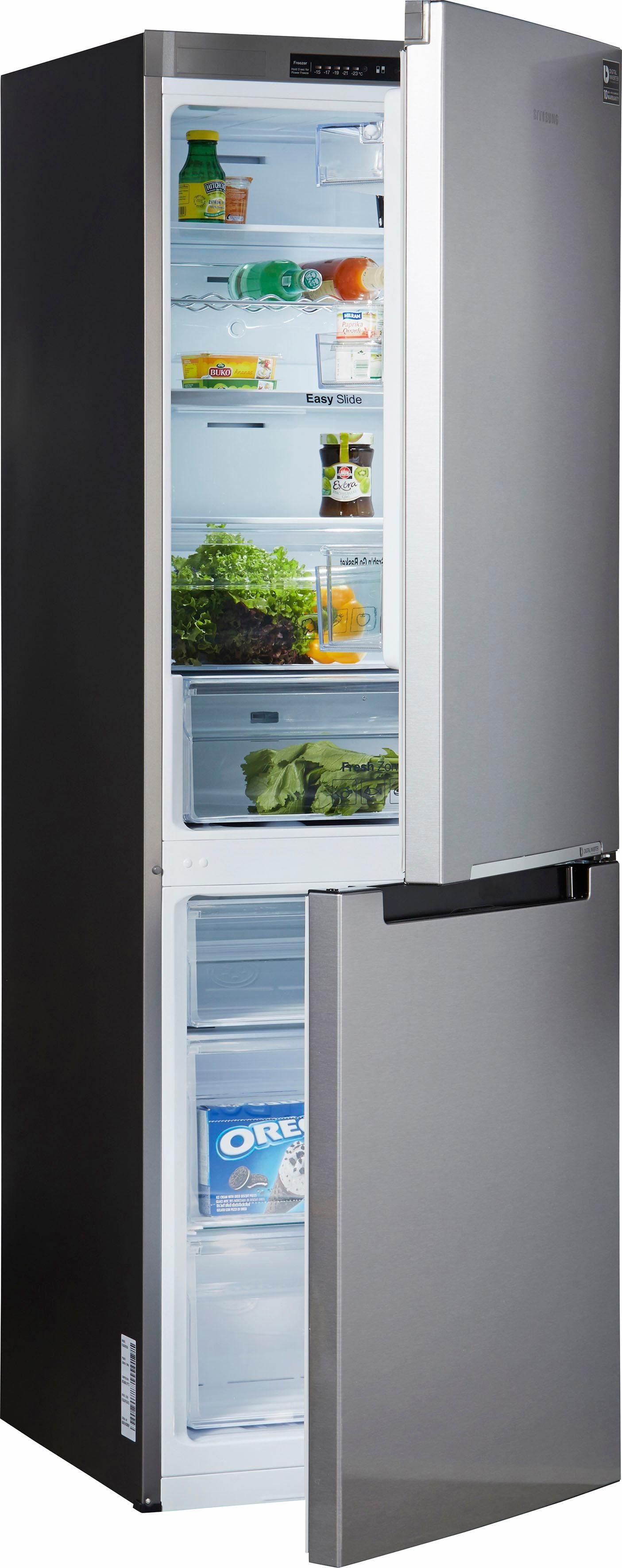 Samsung Kühl-/Gefrierkombination RL30J3015SA, A++, 178 cm hoch, NoFrost