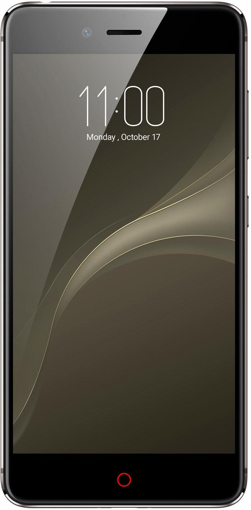Nubia Z11 Mini S Smartphone, 13,2 cm (5,2 Zoll) Display, LTE (4G), Android 6.0 (Marshmallow)