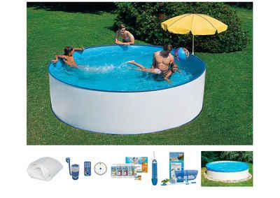 Summer Fun Set: Rundpool, 8-tlg., in 3 Größen Sale Angebote