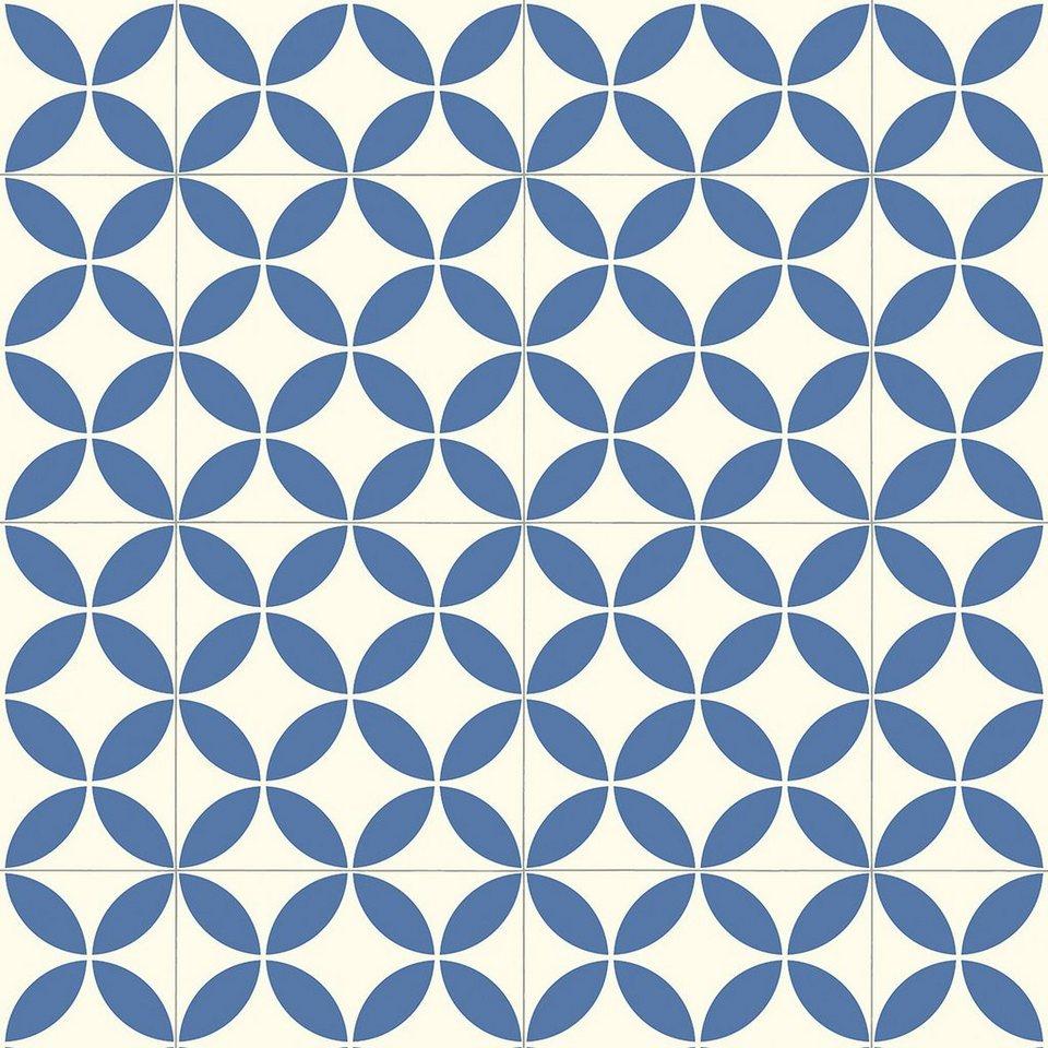 Relativ ANDIAMO Vinyl-Boden »Trendy«, blau-weiß kaufen | OTTO ZS25