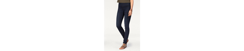 AJC Slim-fit-Jeans, high-waisted mit Reißverschluss hinten