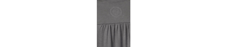 AJC T-Shirt, mit hinten verlängertem Rückenteil