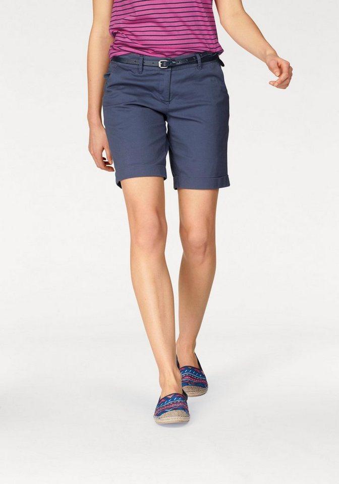 AJC Shorts mit gekrempeltem Saum - tolle Basic Form in rauchblau