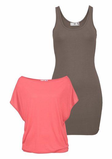 AJC 2-in-1-Kleid (Set), aus leichter Jersey Ware