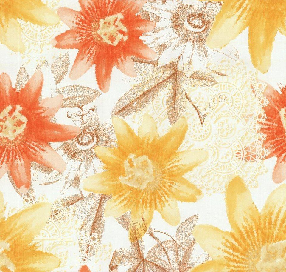 vliestapete guido maria kretschmer tapeten florales muster online kaufen otto. Black Bedroom Furniture Sets. Home Design Ideas