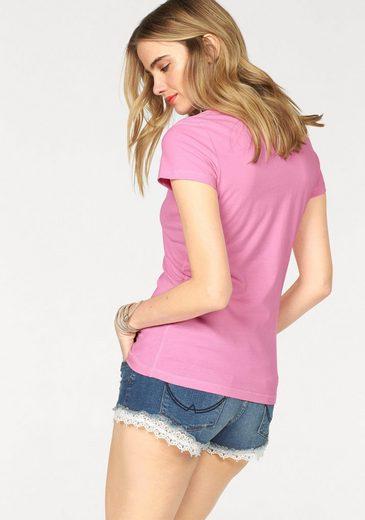 Van One CLASSIC CARS T-Shirt BULLI LOVE, mit großem Frontprint