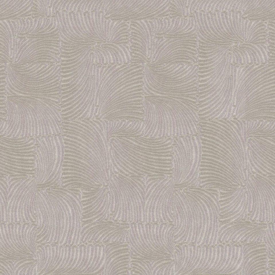 vliestapete guido maria kretschmer tapeten grafische muster beige - Tapete Mit Muster Tapezieren