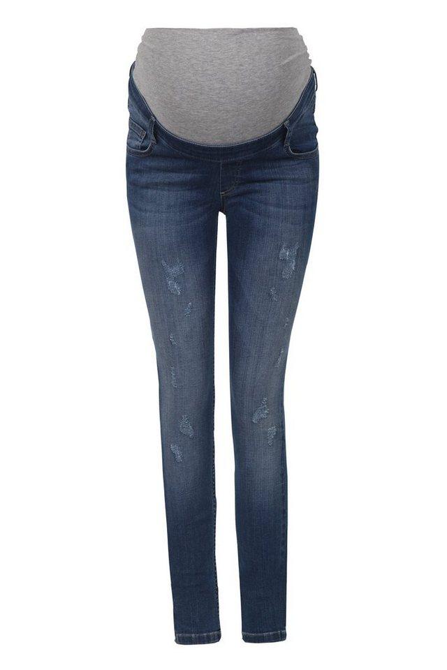 BELLYBUTTON Jeans für Schwangere, super slim 1 in blue denim