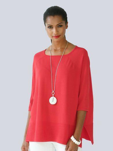 Alba Moda Pullover In Oversized-form