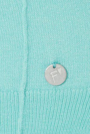 FRAPP Feinstrick-Pullover mit Rundhals-Ausschnitt