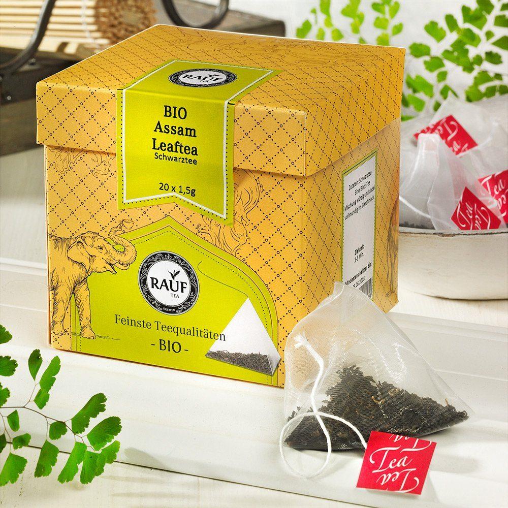Rauf Tee Rauf Tee Schwarzer Tee Assam Leaftea Bio